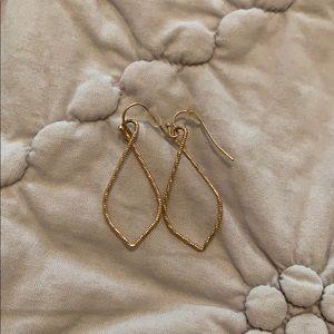 Jewelry - Dainty Gold Teardrop Earrings